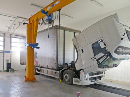 Servis nákladních aut