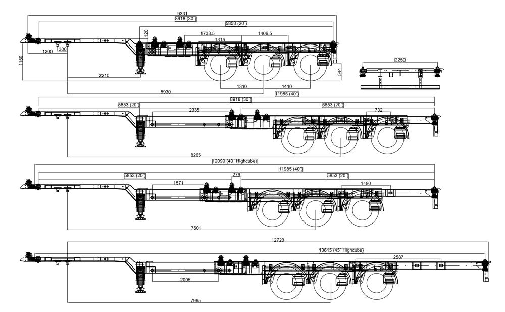 podvozek-pro-kontejner-45-zadni-vysun